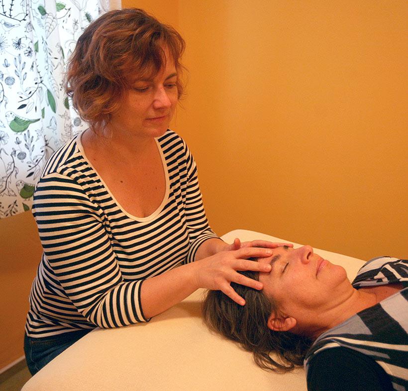 Andrea Bánová, kraniosakrálna terapia